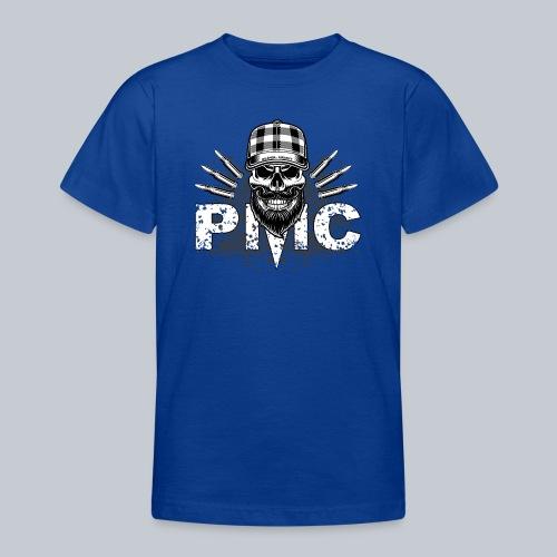 PMC Skull white - Teenager T-Shirt