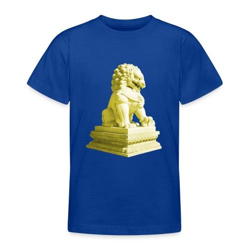 Fu Hund Tempelwächter Wächterlöwe Buddha China - Teenager T-Shirt