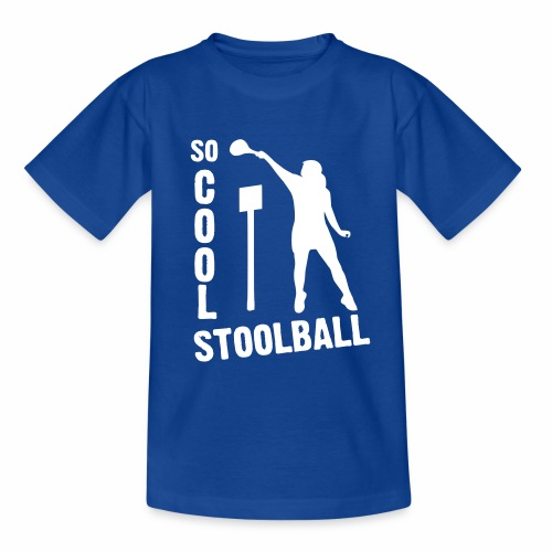 So Cool Stoolball - Teenage T-Shirt