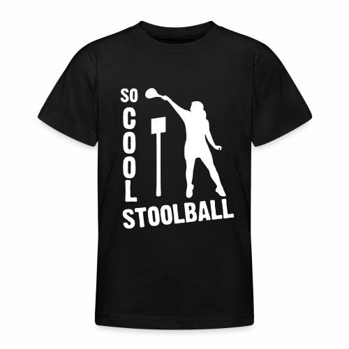 So Cool Stoolball - Teenage T-Shirt