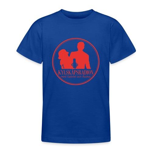 Logga helröd - T-shirt tonåring