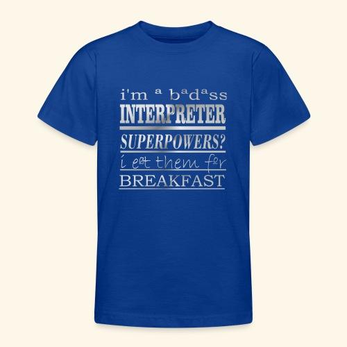 INTERPRETER - Maglietta per ragazzi