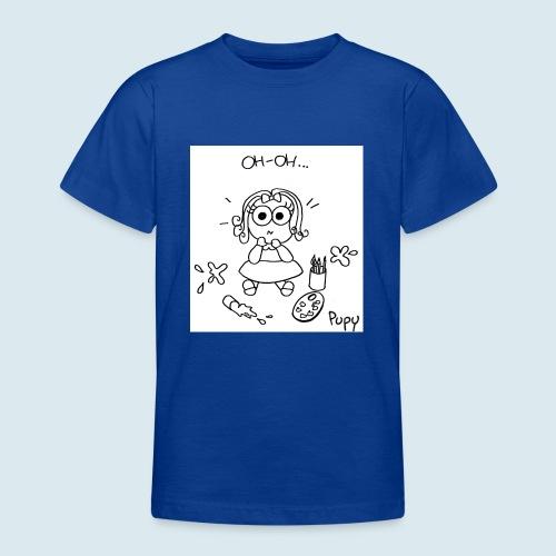 Pupy: oh-oh... - girl - Maglietta per ragazzi
