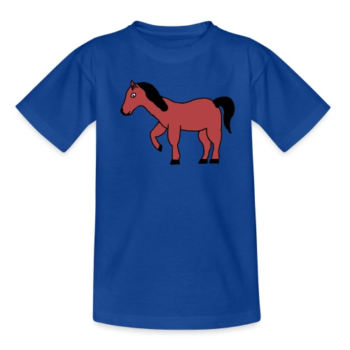 pferd Pony Reiten - Teenager T-Shirt