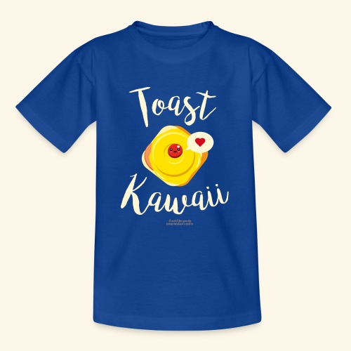 Toast Kawaii Geek Design - Teenager T-Shirt