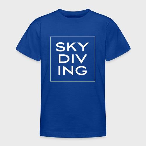 SKY DIV ING White - Teenager T-Shirt