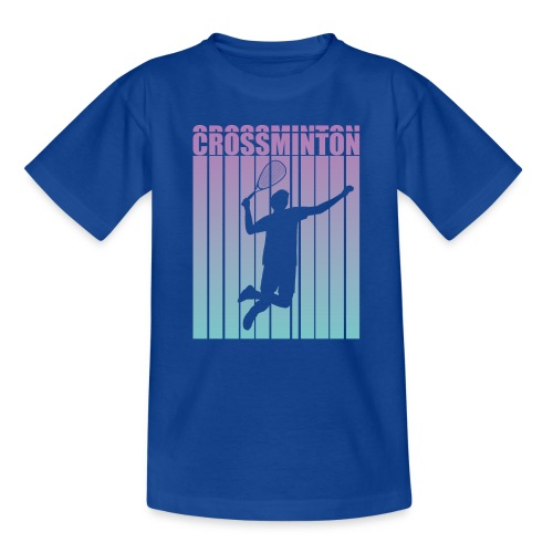 Crossminton - Speed badminton - Teenage T-Shirt