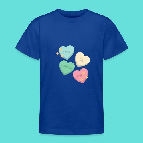 C'est ça l'amour, love - T-shirt Ado