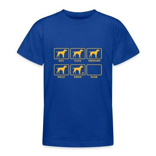 Für alle Hundebesitzer mit Humor - Teenager T-Shirt