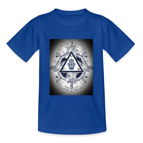 Artsy design with spiritual/meaningful add ons. - Teenage T-Shirt