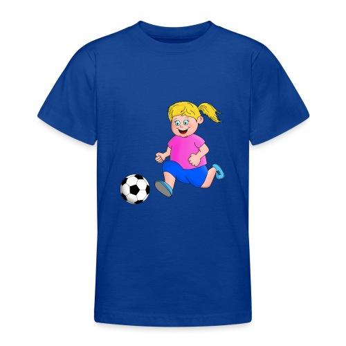 Fußball Mädchen - Teenager T-Shirt