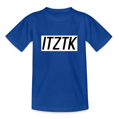 ItzTk black print - Teenage T-Shirt