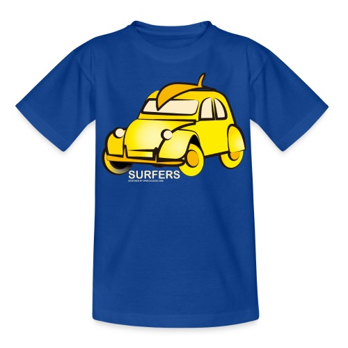 surferyellowcar0101 - Camiseta adolescente