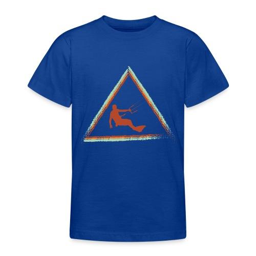 Wir kiten im Dreieck - Teenager T-Shirt