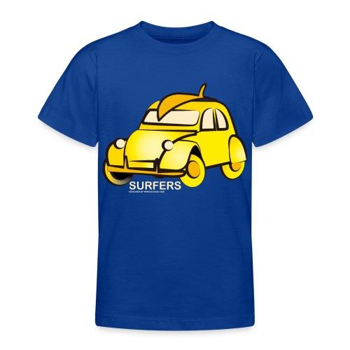 surferyellowcar0101 - Camiseta adolescente