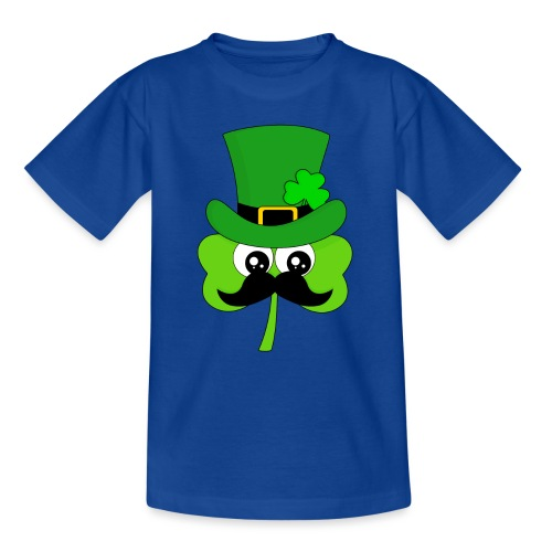 Clover Hipster - Teenager T-Shirt
