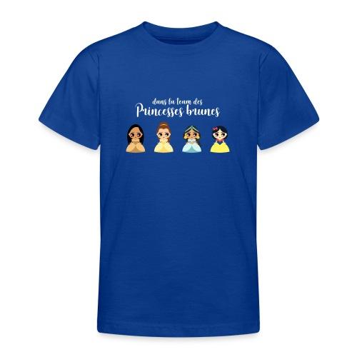 Team princesses brunes - T-shirt Ado