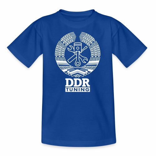 DDR Tuning Coat of Arms 1c - Teenage T-Shirt