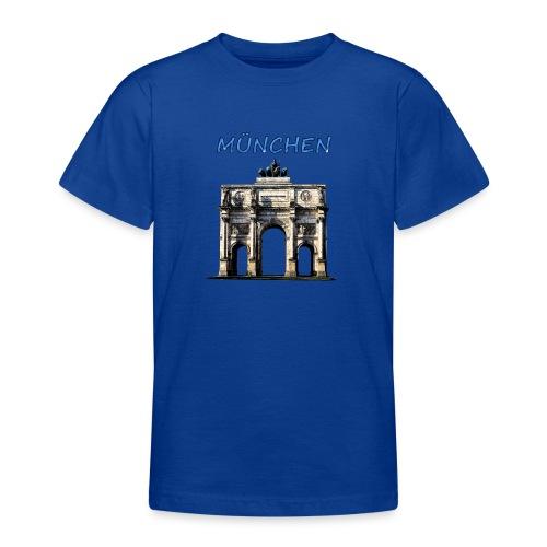 Münchnen Siegestor - Teenager T-Shirt