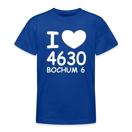 I ♥ 4630 BOCHUM 6 - Teenager T-Shirt