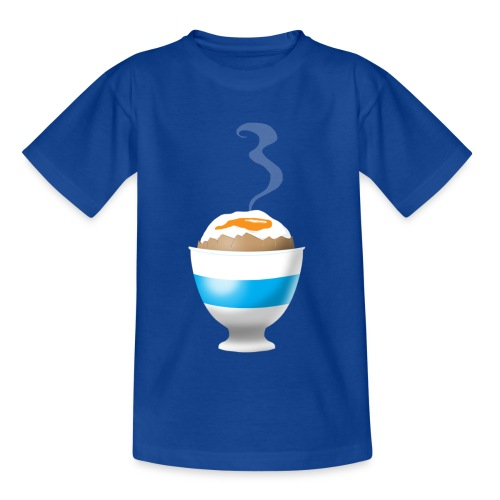 Boiled Egg - Teenage T-Shirt