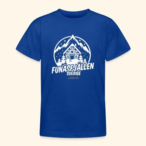 Funäsfjällen Sverige Ski resort T Shirt Design - Teenager T-Shirt