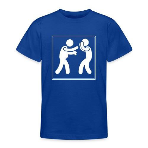 Boxen mit Bier - Teenager T-Shirt