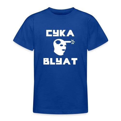 CYKA_BLYAT-png - Teenage T-Shirt