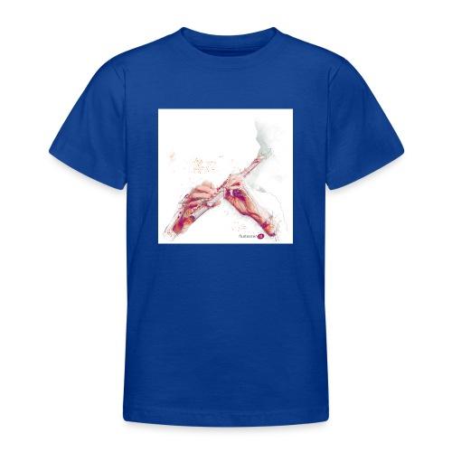 fluitnoten mok - Teenage T-Shirt