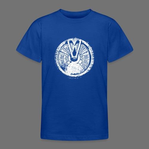Maschinentelegraph (white oldstyle) - Teenage T-Shirt