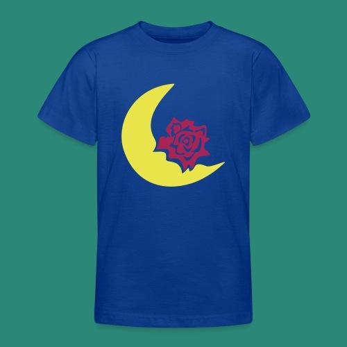 Mondblume svg - Teenager T-Shirt