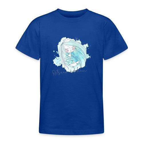 Ostseemädchen Papierboot - Teenager T-Shirt