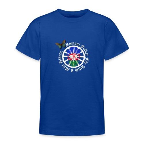 LennyhjulRomaniFolketivitfjerliskulle - T-shirt tonåring