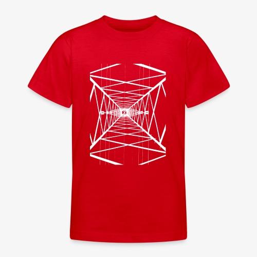 Hochmast V2 Weiß - Teenager T-Shirt