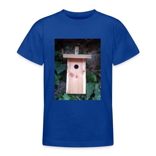 Der Nistkasten - Luxus für den Garten-Vogel - Teenager T-Shirt