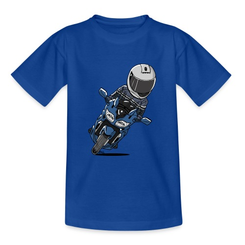 0790 FJR PhantomBlue - Teenager T-shirt