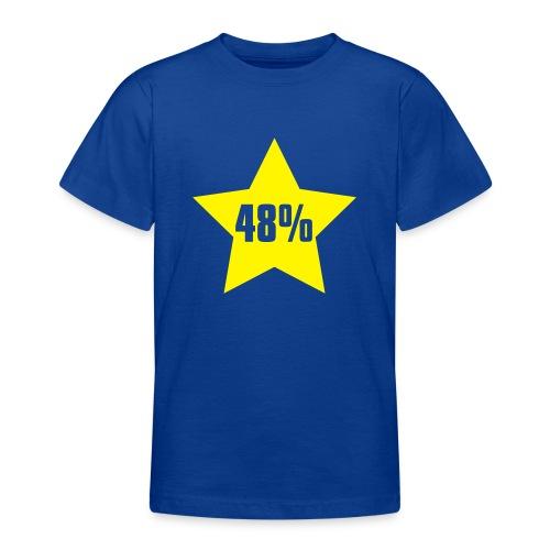 48% in Star - Teenage T-Shirt