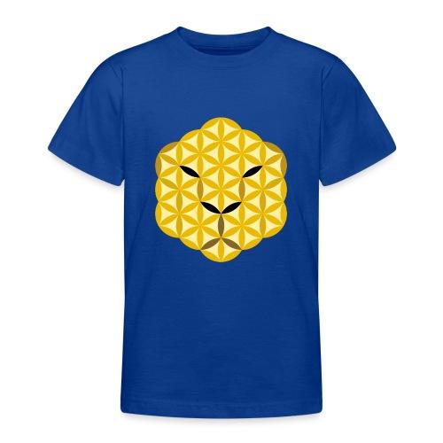 The Jaguar Face of life - Sacred Animals, Face 01 - Teenage T-Shirt