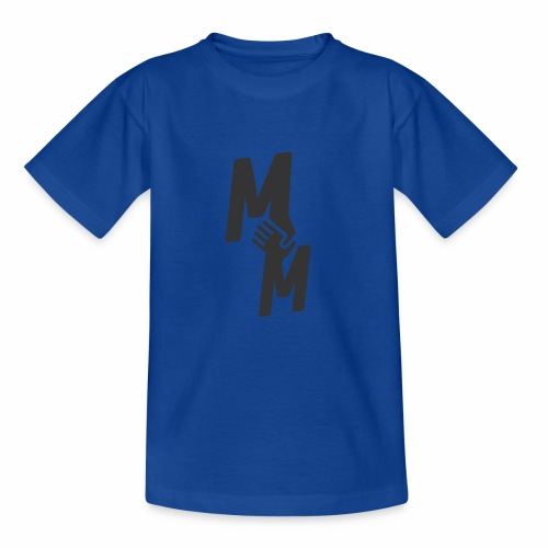 MM - Black - Teenager T-Shirt