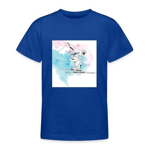 Skiing - Teenage T-Shirt
