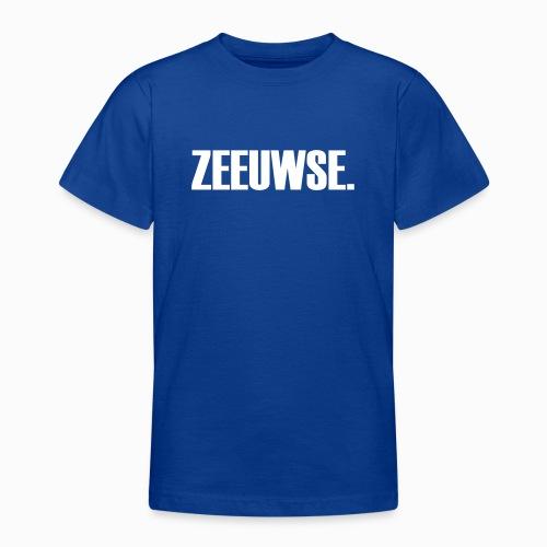Zeeuwse - Lekker Zeeuws - Teenager T-shirt