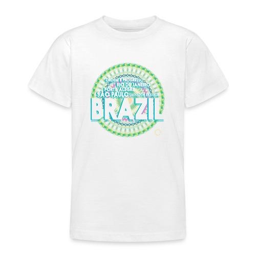 Lemon Brazil Mandala - T-shirt Ado