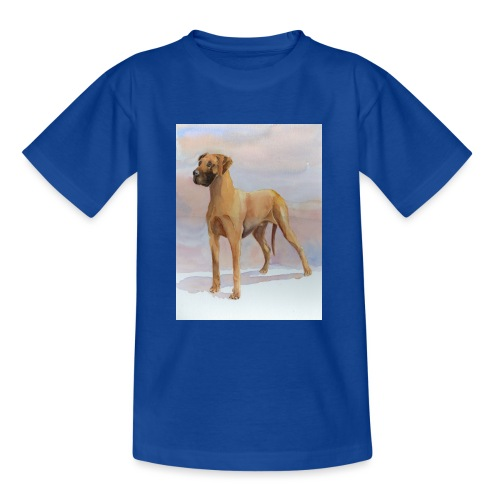 Great Dane Yellow - Teenager-T-shirt