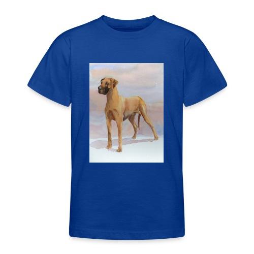 Great Dane Yellow - Teenager-T-shirt