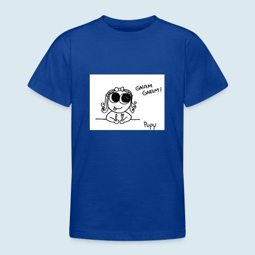 Pupy: gnam gnam! - girl - Maglietta per ragazzi