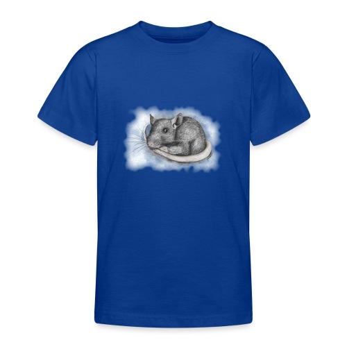 Rottapiirros - Värikuva - Nuorten t-paita