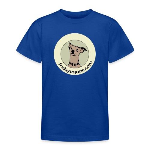 FIJ logo 2020 005 - T-shirt tonåring