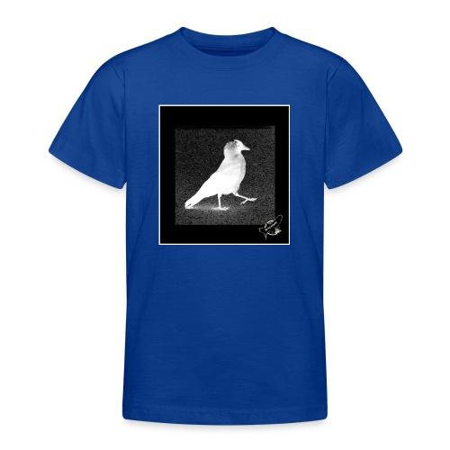 Cool Jackdaw by BlackenedMoonArts, w. logo - Teenager-T-shirt