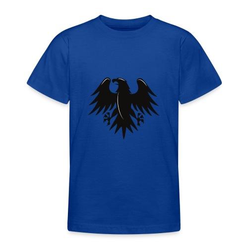 Aigle noir motif - T-shirt Ado