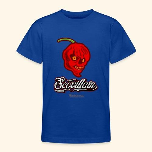 Chili Chilischote Chilihead Scovillain - Teenager T-Shirt